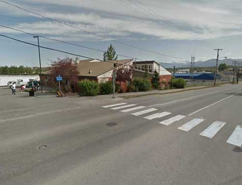 Three pedestrians were seriously injured while crossing the crosswalk shown here near Beans Cafe on November 30th, 2016. Image-Google Maps