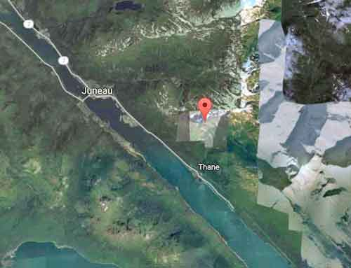 Location of Mount Roberts near Juneau. Image-Google Maps