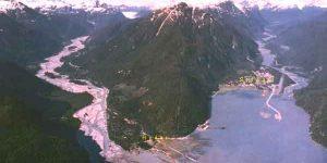 The two communities of Hyder, Alaska and Stewart, B.C. Image RCI Net