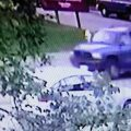 Security cameras captured imagery of a stolen Durango, since recovered. Image-APD