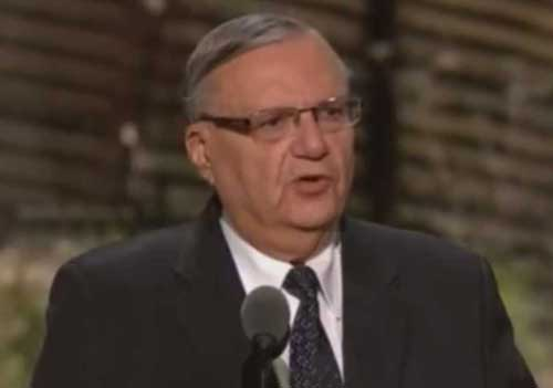 Arizona's former Sheriff of Maricopa County has been convicted of criminal contempt of court. Image-video screengrab