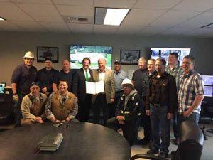 Bill-signing ceremony at Petro Star Valdez Refinery. Image-State of Alaska