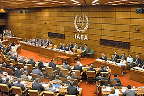 Session of the International Atomic Energy Agency in Vienna. Image-IAEA