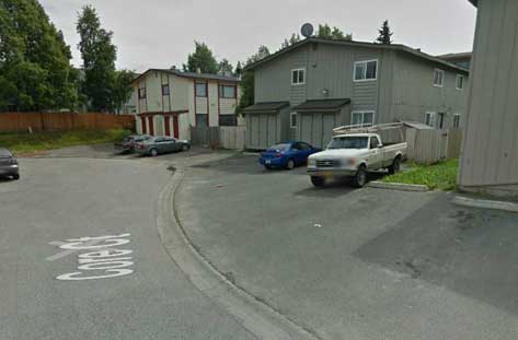 A home invasion suspect died in a Core Court driveway early Tuesday morning. Image-Google Maps