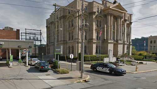 Jefferson County Courthouse in Steubenville, Ohio. Image-Google Maps