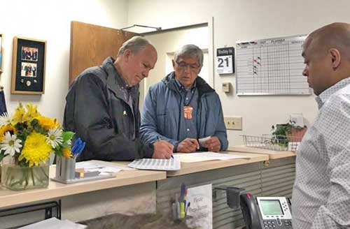 Governor Walker and Lt. Governor Mallott filed for re-election Monday. Image-Walker Mallott for Alaska Campaign