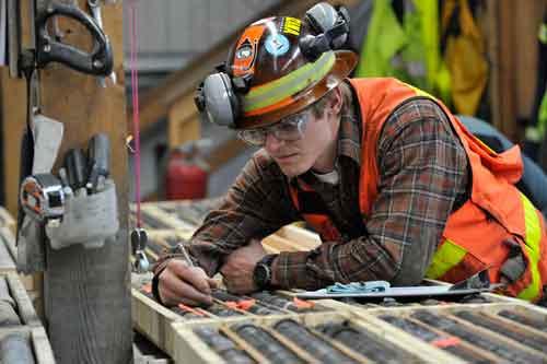 Hecla Green Mine employee. Image-Hecla Green Mining