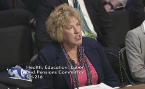 Alaska Division of Insurance Director Lori Wing-Heier Testifying at HELP Committee.