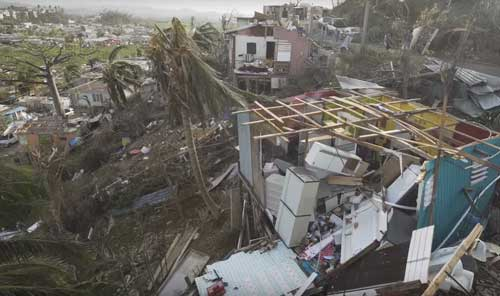 The devastation in Puerto Rico. Image-NYT video screengrab