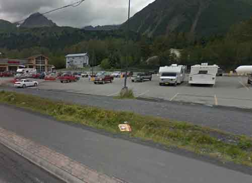 Chugiak man Micah McComas was shot and killed during a traffic stop in a Seward parking lot on Sunday morning. Image-Google maps