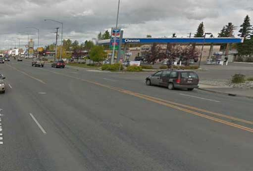A pedestrian was struck and killed in a hit and run at Muldoon and Fifth on Saturday evening. Image-Google Maps