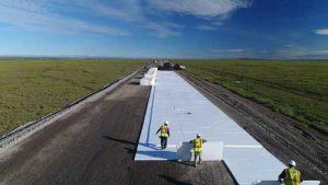 Reconstruction on the Dalton Hgihway between milepost 362 and 379. Image-Alaska Department of Transportation & Public Facilities