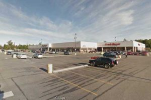 Anchorage's Muldoon Fred Meyers parking lot. Image-Google Maps
