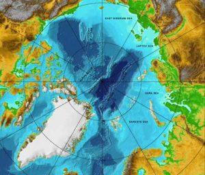 Arctic Ocean. Image-NOAA
