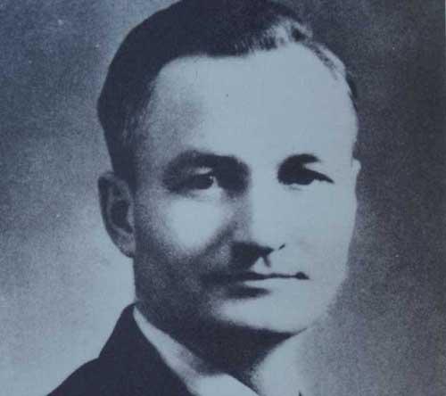 Professor Veryl Fuller in the 1936 yearbook.