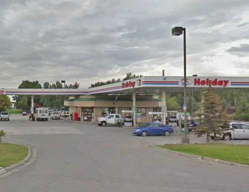 Tudor Holiday gas station. Image-Google Maps