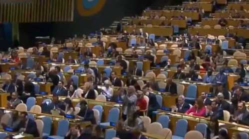 United Nations General Assembly. Image-United Nations