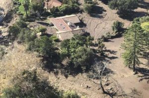 SoCal mudslide. Courtesy 129th Rescue Wing