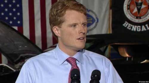Rep. Joe Kennedy gives the Democratic response to President Donald Trump's State of the Union address.
