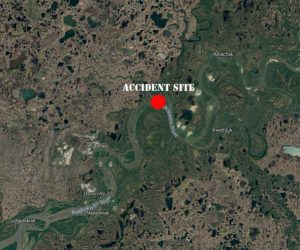 Accident site on the Kuskokwim-Gweek Rivers. Image-Google Maps