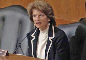 Senator Murkowski speaking on the opioid crises. Image-Office of Senator Murkowski