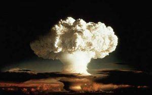 Nuclear mushroom cloud. Image-CDC