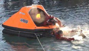 Rescue simulation in Cordova. Image-Screengrab of Ralph Bullis video
