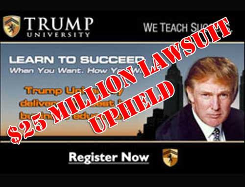 Modified Trump University ad