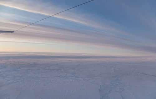 Nasa Begins Latest Airborne Arctic Ice Survey Alaska border=