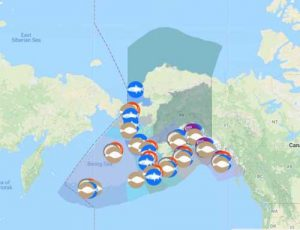 Interactive Map Of Alaska.Interactive Map Of Alaska Commercial Fisheries Launched Alaska