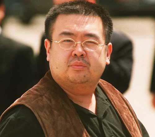 Kim Jong Nam, half brother of North Korean leader Kim Jong Un.