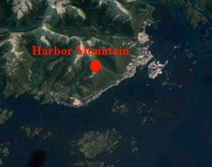 Location of Harbor Mountain. Google Maps