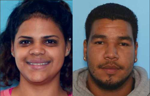 Shirley Borrero Qinones (21-years-old) and Hector Rivera (20-years-old). Image-APD