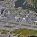 Aerial view of Ted Stevens International Airport in Anchorage. Image-Google Maps