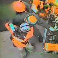 USCG footage of Maia H medevac.