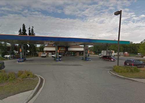 Tesoro gas station on Abbott Road. Image-Google Maps