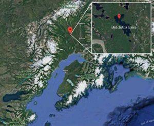 Location of Bulchitna Lake. Image-Google Maps