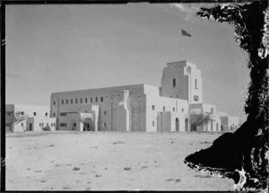 British Government House in Jerusalem in 1932, one year before its construction was completed. Image-Library of Congress
