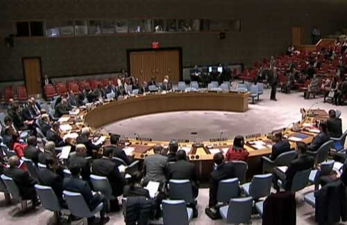 Meeting of the UN Security Council. Image-VOA