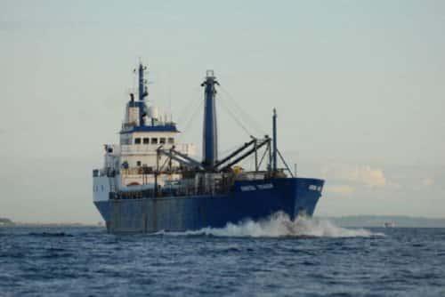 Coastal Trader, one of Coastal Transportation's vessels serving Alaska. Image-Coastal Transportation