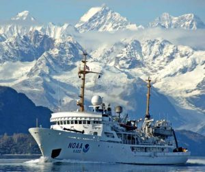 NOAA ship Fairweather. Image-NOAA