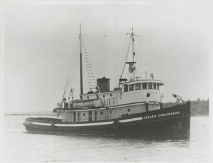 The Challenger in her prime as the Island Challenger in Vancouver. Image-Vancouver Historical Museum