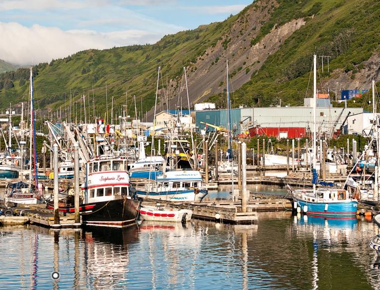 Kodiak harbor. Image-Comfish