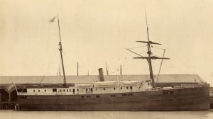 SS City of Chester. (Credit: San Francisco Maritime National Historic Park K01.2.571PL)
