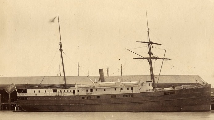 SS City of Chester. (Credit: San Francisco Maritime National Historic Park K01.2.571PL)