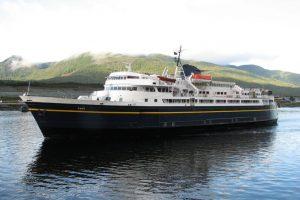The Alaska Marine Highway System's M/V Taku. Image AMHS