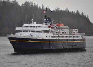 The Alaska Marine Highway's ferry Taku. Image-AMHS