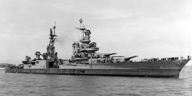 USS Indianapolis(CA 35). Image-U.S. Navy