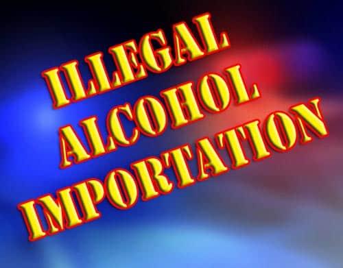 Anchorage Traveler stopped in St Marys, 19 Bottles of Vodka Seized