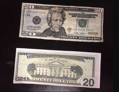 Counterfeit money. Image-APD